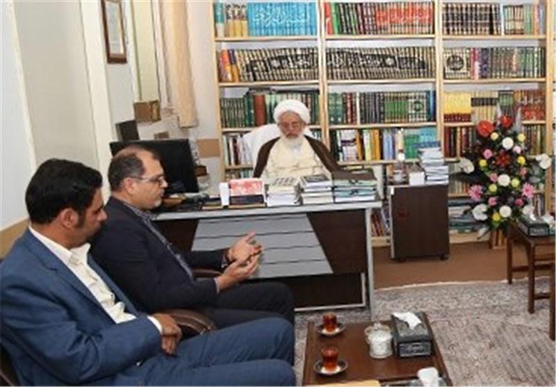هیئت مدیره نظام پرستاری یزد در دیدار با آیت الله ناصری