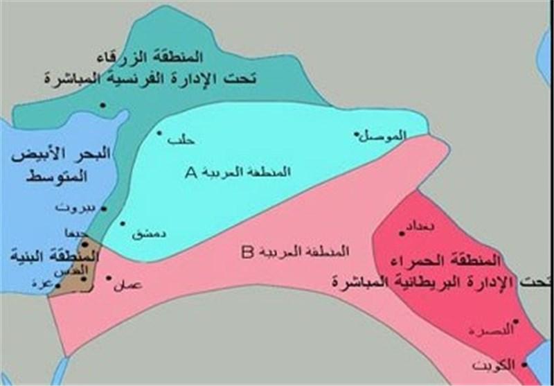 سایکس بیکو فلسطین