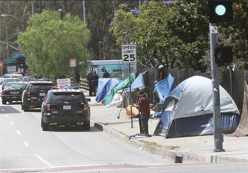 بیخانمانهای لسآنجلس
