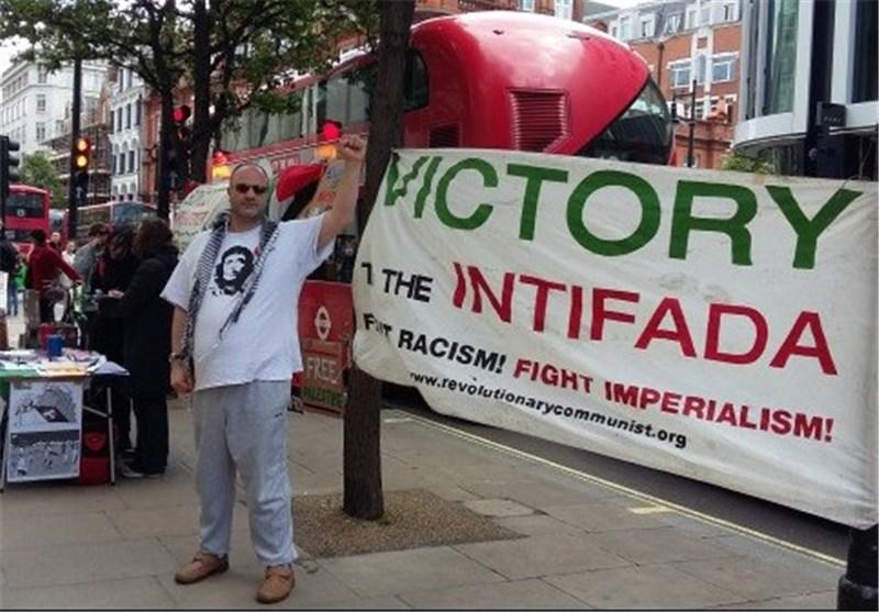 حامیان فلسطین لندن