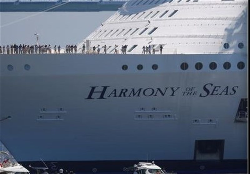 World's Largest Cruise Ship, Costing $1B, Sets Sail