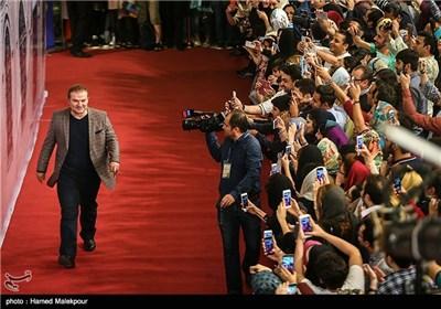 ورود مهدی سلطانی بازیگر سریال شهرزاد به جشن پایانی