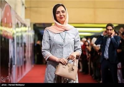 ورود ترانه علیدوستی بازیگر سریال شهرزاد به جشن پایانی