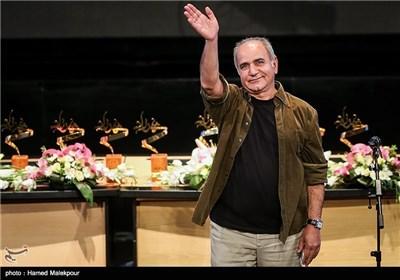پرویز پرستویی در جشن پایان سریال شهرزاد