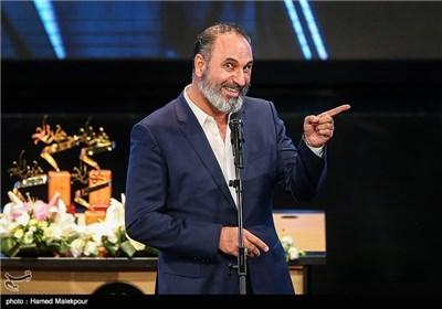 حمید فرخنژاد در جشن پایان سریال شهرزاد