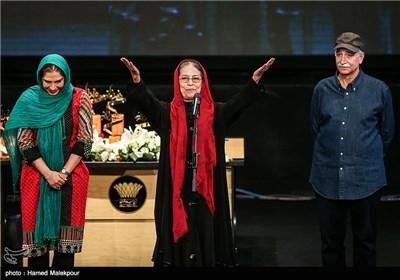 محمود پاکنیت، سهیلا رضوی و نسیم ادبی در جشن پایان سریال شهرزاد