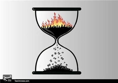 کاریکاتور/ افزایش آمار تلفات جنگ سوریه و یمن