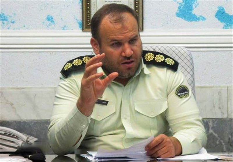 شعفی فرمانده انتظامی میانه