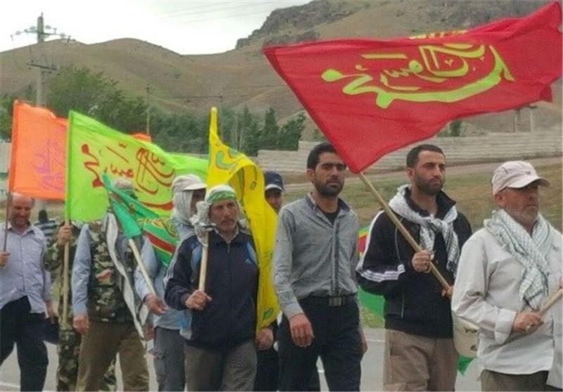 پیاده روی حرم امام خمینی(ره)