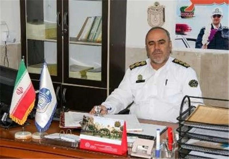 سرهنگ منصور جمشیدی رئیس پلیس راهنمایی و رانندگی یزد