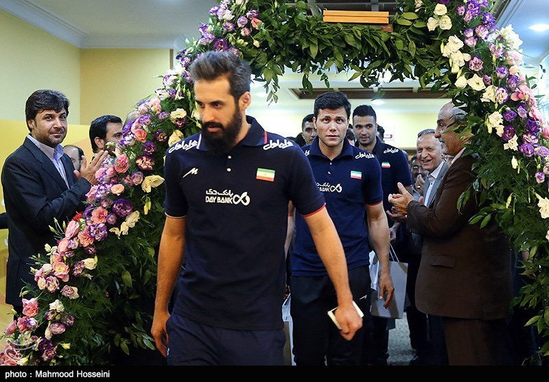 Iran Volleyball Team Heads to World Olympic Qualification Tournament