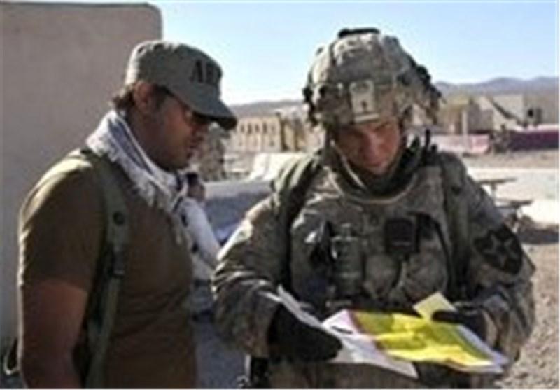 سرباز آمریکایی و مترجم افغان