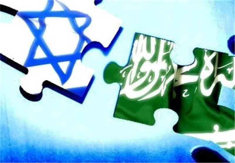 پرچم اسرائیل و عربستان
