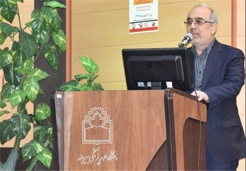 فرشید عابدی معاون دانشگاه پزشکی بیرجند