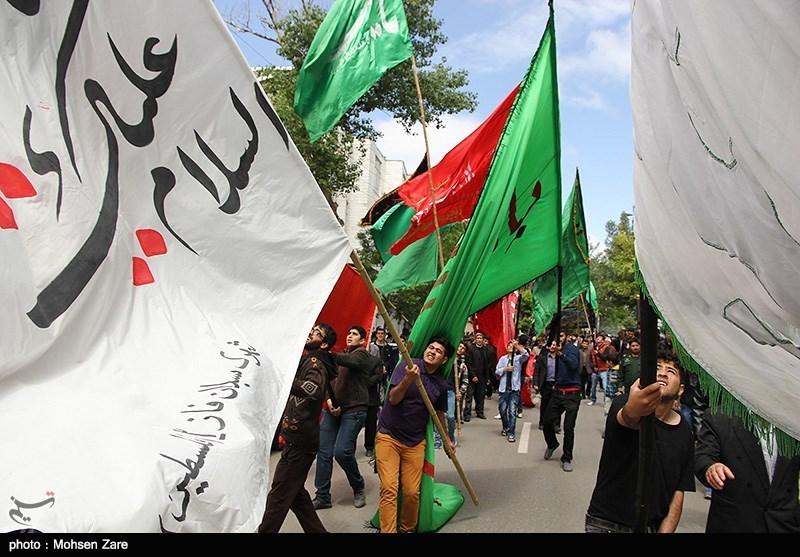 تشییع شهدای مدافع حرم در اردبیل