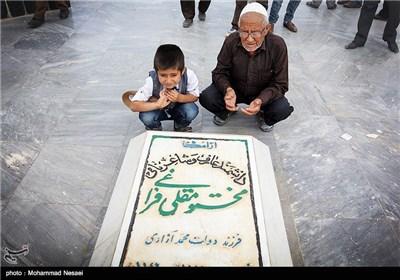 دویست و هشتاد و سومین سالروز تولد مقتومقلی فراغلی در گلستان