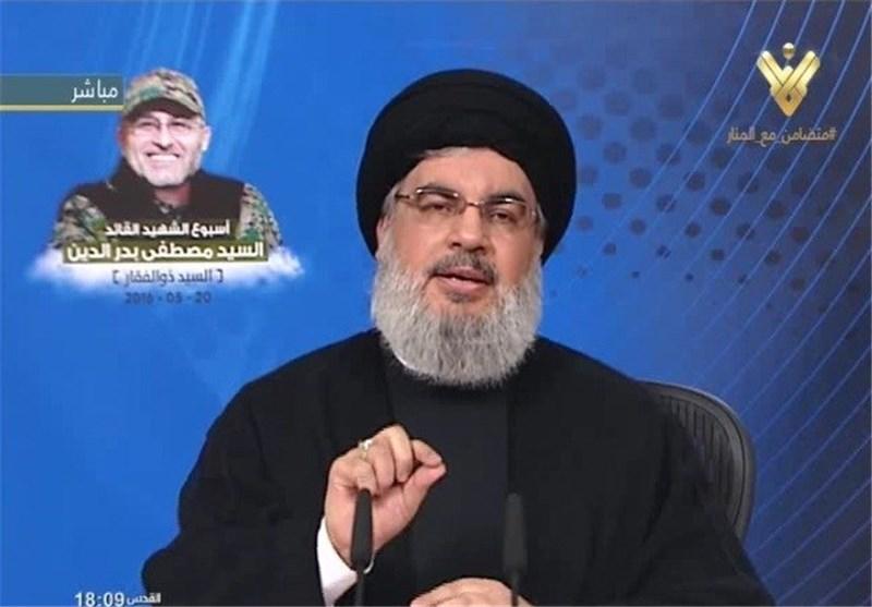 Nasrallah Hails Hezbollah Slain Military Commander