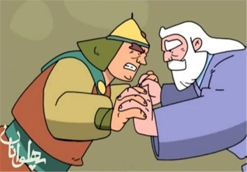 انیمیشن پهلوانان