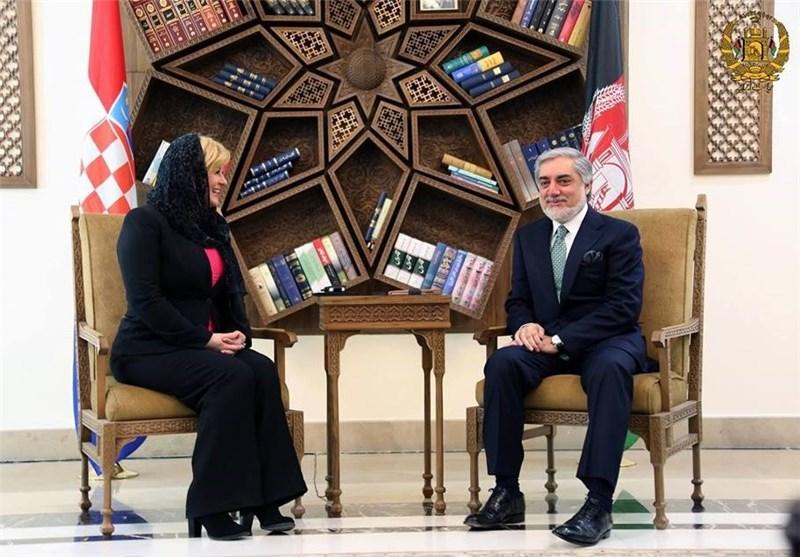 عبدالله و رئیسجمهور کرواسی