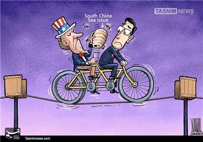 کاریکاتور/ فعالیتهای جاسوسی آمریکا