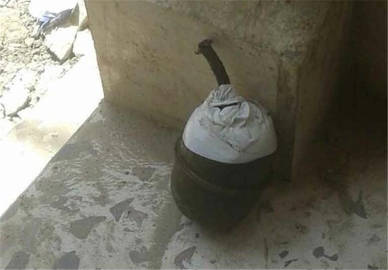 بمب در پناهنگاه فلسطین