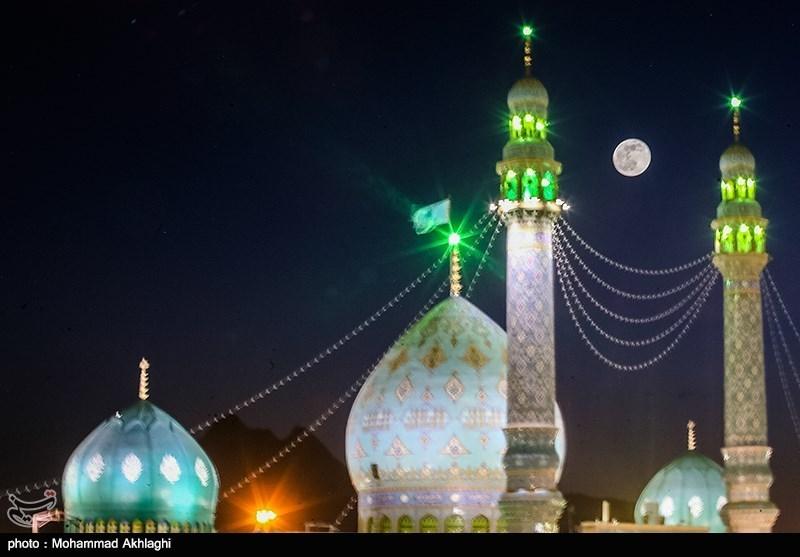 شب میلاد امام زمان(عج) در مسجد جمکران
