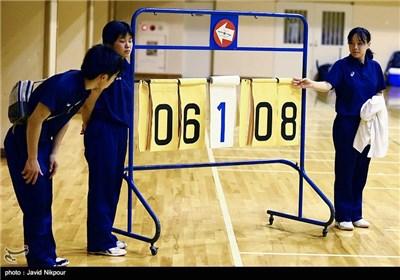 مباراة ودیة لمنتخبی إیران والصین للکرة الطائرة