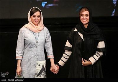 پریناز ایزدیار و ترانه علیدوستی در جشن پایان سریال شهرزاد