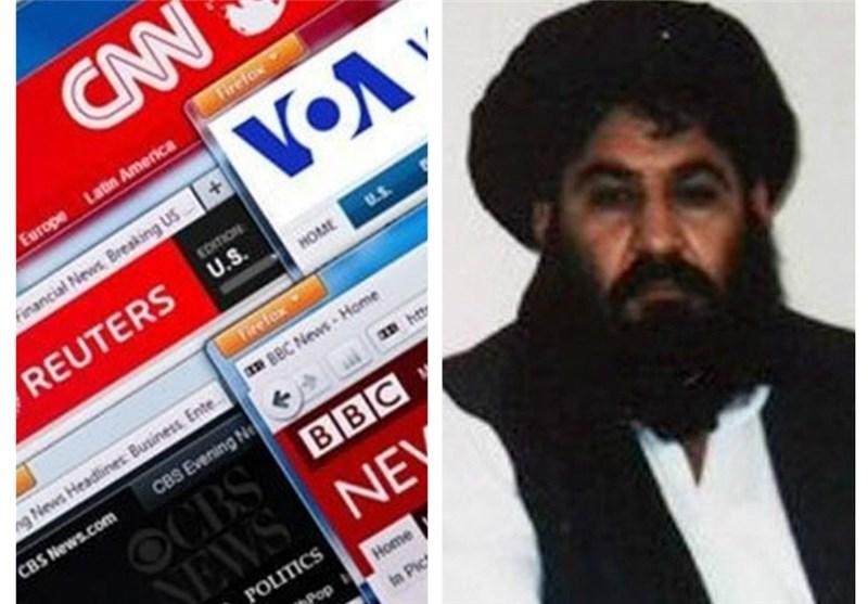 ملا منصور و رسانههای غربی