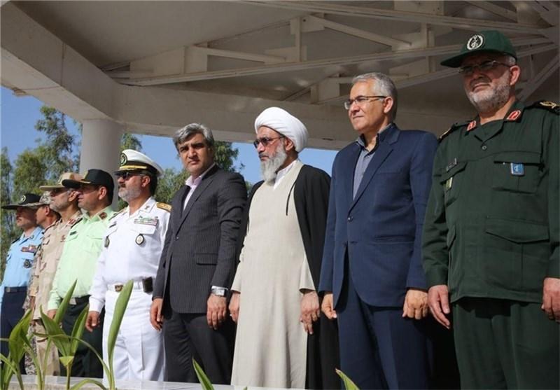 توانمندی نیروهای مسلح استان بوشهر با داشتن تجهیزات نظامی بهروز