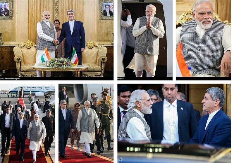 سفر نخستوزیر هند به تهران از دریچه دوربین
