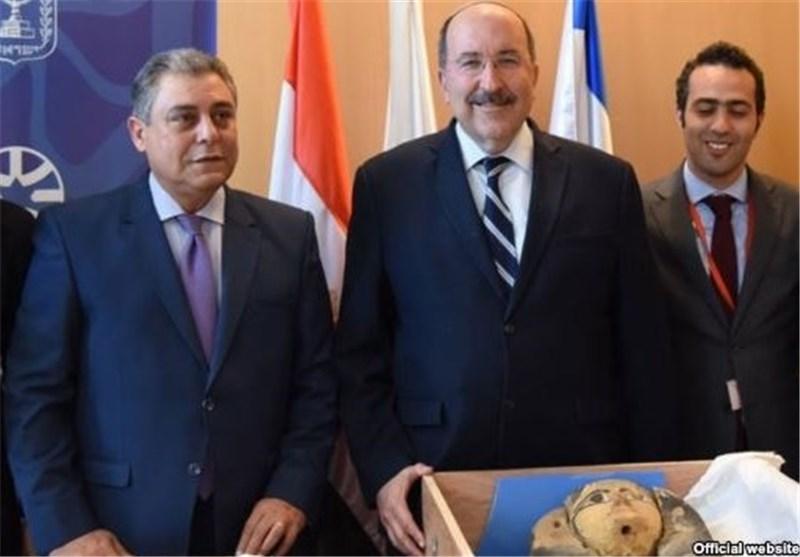رژیم صهیونیستی: بازگرداندن اشیاء باستانی به مصر نشانه بهبود روابط با قاهره است