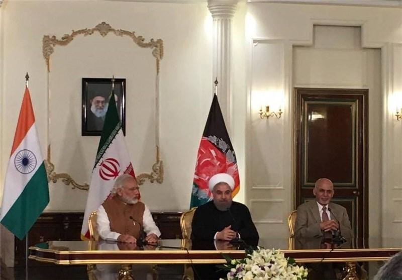 پیام چابهار، پیام تقدیر ملت و دولت افغانستان از دولتها و ملتهای ایران و هند است