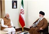 نخستوزیر هندوستان با امام خامنهای دیدار کرد