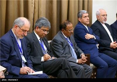 دیدار نخستوزیر هندوستان با مقام معظم رهبری