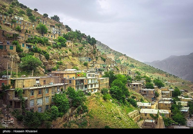 روستای اورامان در کردستان