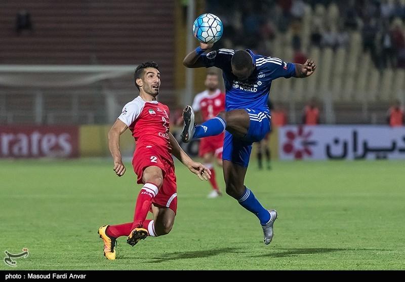 دیدار تیم های فوتبال تراکتورسازی و النصر امارات