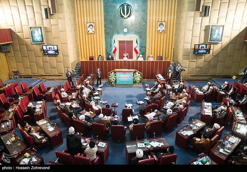 اختتامیه اولین اجلاسیه مجلس خبرگان پنجم (2)