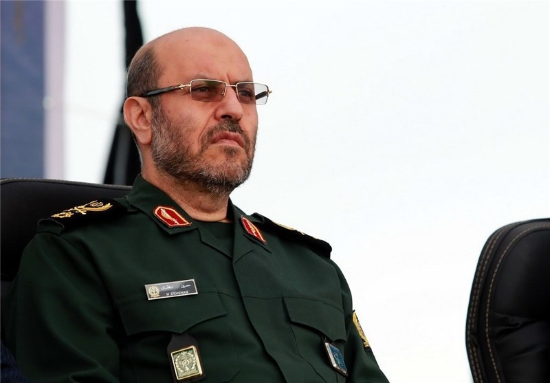 Iranian Defense Minister in Russia for MCIS, Talks with Counterpart