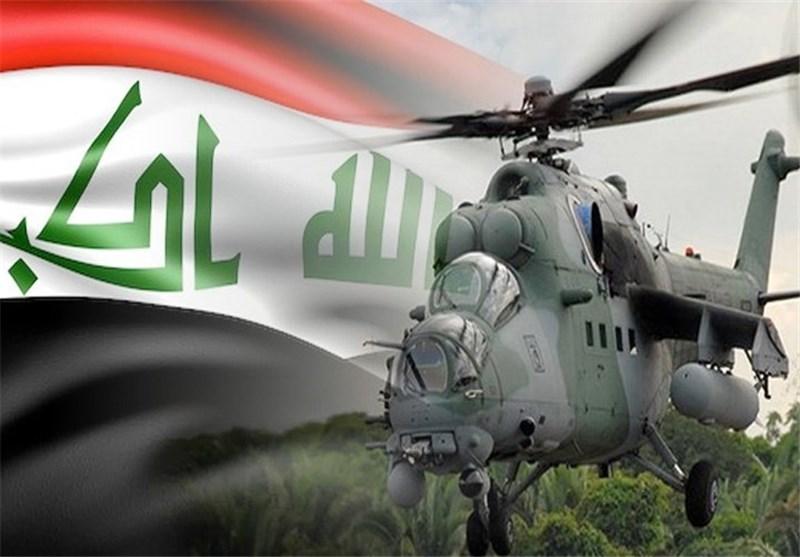 بالفیدیو..طیران الجیش العراقی یدعم قطعات قادمون یا نینوى