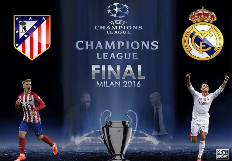 پیش بازی فینال لیگ قهرمانان اروپا 2015/16 ؛ رئال مادرید - اتلتیکومادرید نبرد همشهری ها