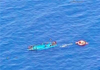 غرق شدن قایق مهاجران