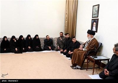 دیدار خانواده شهید بدرالدین با مقام معظم رهبری