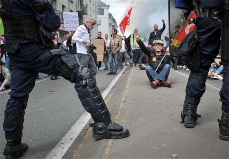 اعتراضات به اصلاح قانون کار فرانسه