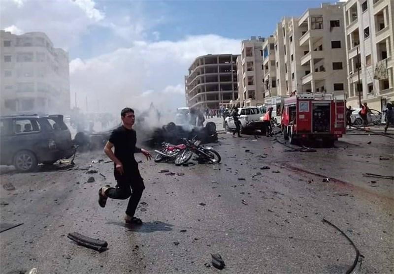 شام کے شہر ادلب میں خوفناک دھماکہ، 25 جاں بحق درجنوں زخمی