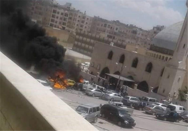 سیارة مفخخة فی إدلب تطیح بقادة من جبهة النصرة +صور