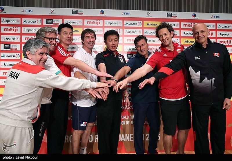 آخرین تمرین تیم ملی والیبال پیش از دیدار با استرالیا