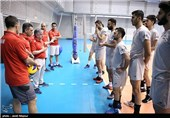 تیم ملی والیبال به تهران بازگشت