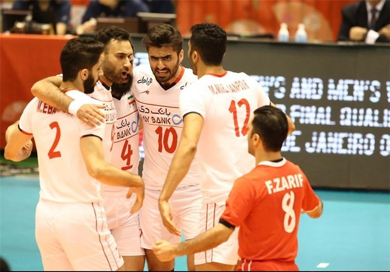 Iran Volleyball Defeats Australia in Straight Set at Olympics Qualifier