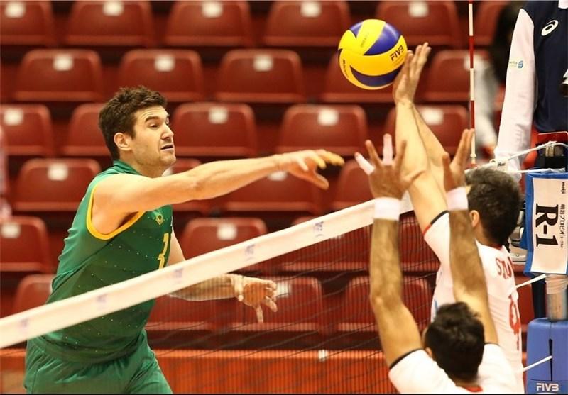 والیبال انتخابی المپیک ۲۰۱۶ - ژاپن ؛ برد ایران برابر استرالیا